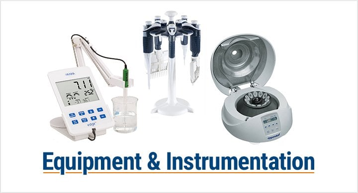 Equipment & Instrumentation