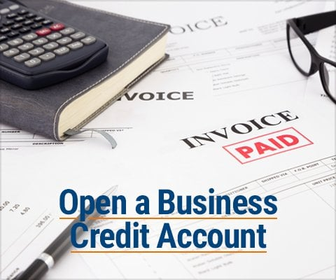 Open a Business Credit Account
